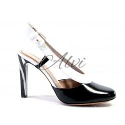Chanel Chloé bicolore bianco nero