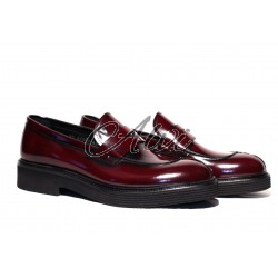 Mocassini uomo Roberto Serpentini bordeaux