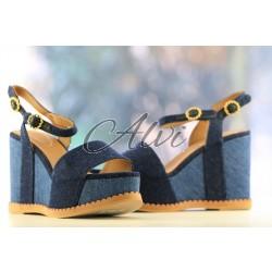 Sandali jeans See by Chloé