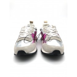 Sneakers Mulberry Argento