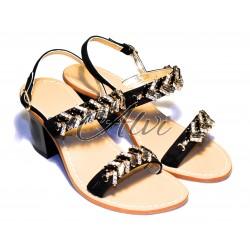 Sandali neri eleganti