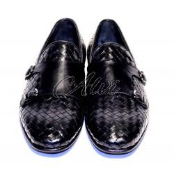 Pantofola uomo intrecciata Roberto Serpentini